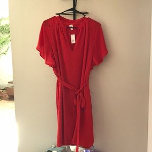 Red dress from GAP